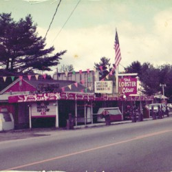 Old picture of the restaurant.